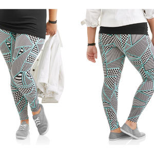 Women's Ankle Leggings Regluar & Plus Size